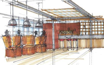 Bar work begins – Northern Quarter, Manchester