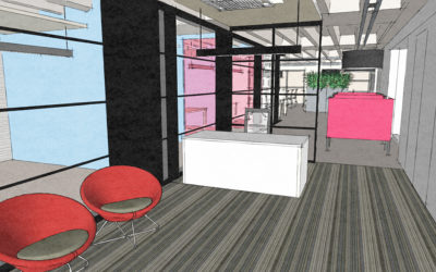 Mix of raw and slick for Pomegranate Consulting new City Centre workspace