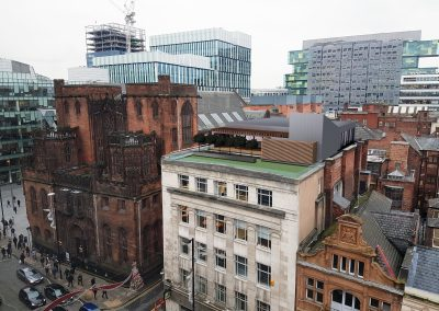 New rooftop offices, Manchester City Centre